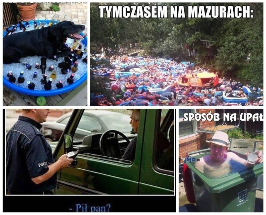 echo dnia – Upały w Polsce. Memy! Internauci śmieją się z wysokich temperatur.